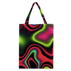 Vibrant Fantasy 1b Classic Tote Bag by MoreColorsinLife