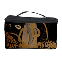 Hawaiian, Tropical Design With Surfboard Cosmetic Storage Case by FantasyWorld7