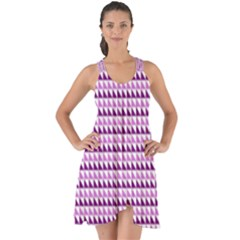 Pattern Show Some Back Chiffon Dress by gasi