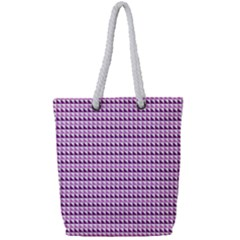 Pattern Full Print Rope Handle Bag (small)