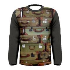 Suitcase Men s Long Sleeve Tee by ozarmenswear