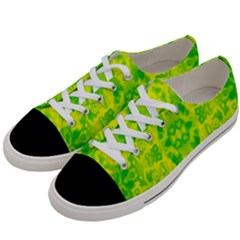 Pattern Women s Low Top Canvas Sneakers by gasi