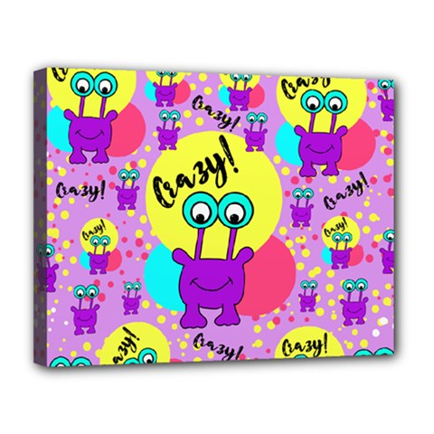 Crazy Canvas 14  X 11  by gasi