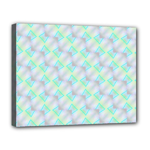 Pattern Canvas 14  X 11  by gasi