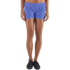 Pattern Yoga Shorts by gasi
