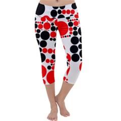 Pattern Capri Yoga Leggings by gasi