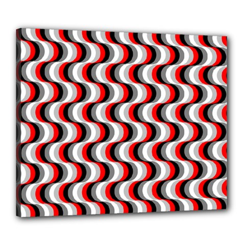 Pattern Canvas 24  X 20  by gasi