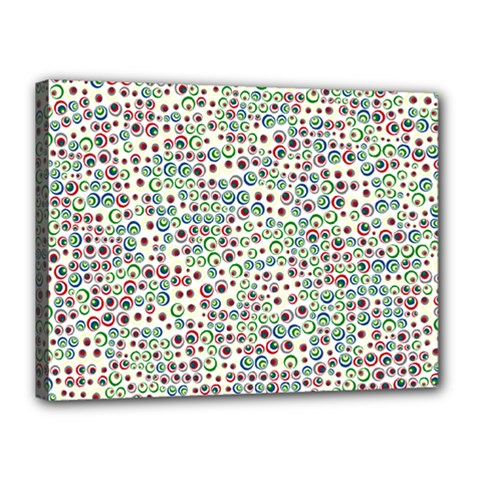 Pattern Canvas 16  X 12  by gasi