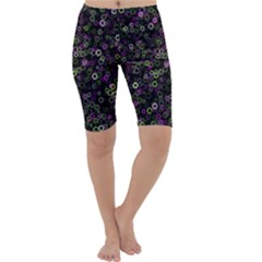 Pattern Cropped Leggings  by gasi