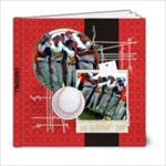 Baseball Softball 6x6 Photo Book - 6x6 Photo Book (20 pages)