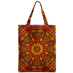 Sunshine Mandala And Other Golden Planets Classic Tote Bag by pepitasart