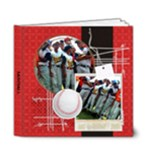 Baseball Softball Deluxe 6x6 Photo Book - 6x6 Deluxe Photo Book (20 pages)