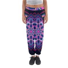 Mandala Circular Pattern Women s Jogger Sweatpants by Celenk