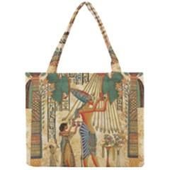 Egyptian Man Sun God Ra Amun Mini Tote Bag by Celenk