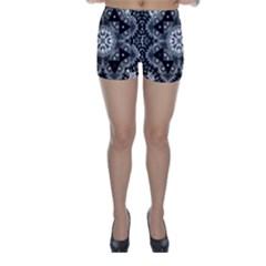 Mandala Calming Coloring Page Skinny Shorts