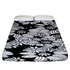 Mandala Calming Coloring Page Fitted Sheet (king Size) by Celenk