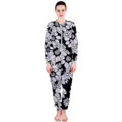 Mandala Calming Coloring Page Onepiece Jumpsuit (ladies)
