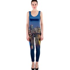 Buildings Can Cn Tower Canada Onepiece Catsuit by Celenk
