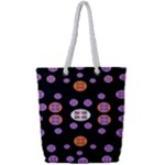 Planet Say Ten Full Print Rope Handle Bag (Small)