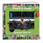 Touch a Truck 08 - 8x8 Photo Book (20 pages)