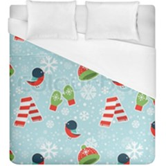 Winter Fun Pattern Duvet Cover (king Size) by AllThingsEveryone