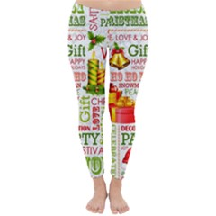The Joys Of Christmas Classic Winter Leggings by AllThingsEveryone
