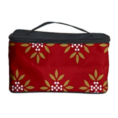 Pattern Background Holiday Cosmetic Storage Case by Celenk