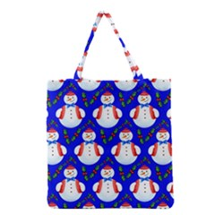 Seamless Repeat Repeating Pattern Grocery Tote Bag by Celenk