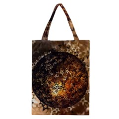 Christmas Bauble Ball About Star Classic Tote Bag by Celenk