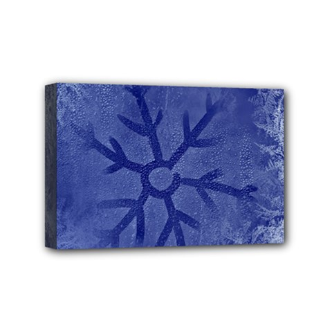 Winter Hardest Frost Cold Mini Canvas 6  X 4  by Celenk
