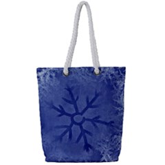 Winter Hardest Frost Cold Full Print Rope Handle Bag (small)
