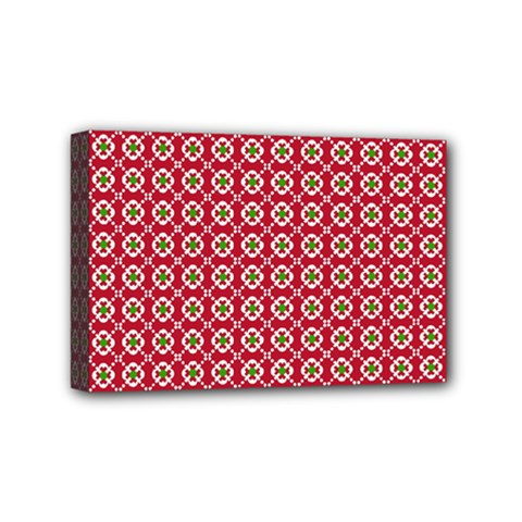Christmas Wrapping Paper Mini Canvas 6  X 4  by Celenk