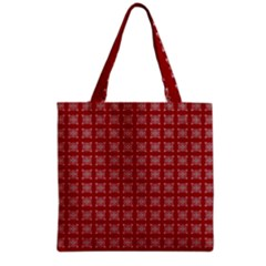 Christmas Paper Wrapping Paper Grocery Tote Bag by Celenk