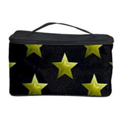 Stars Backgrounds Patterns Shapes Cosmetic Storage Case by Celenk