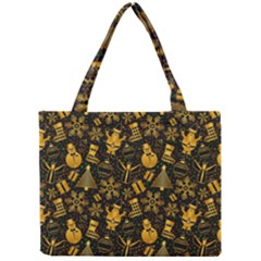 Christmas Background Mini Tote Bag by Celenk