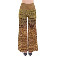 Background Gold Pattern Structure Pants