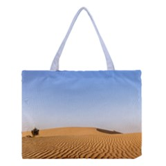 Desert Dunes With Blue Sky Medium Tote Bag by Ucco