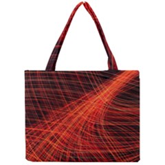 A Christmas Light Painting Mini Tote Bag by Celenk