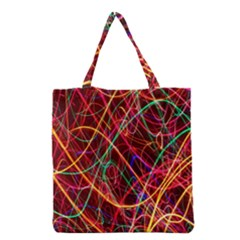 Wave Behaviors Grocery Tote Bag by Celenk