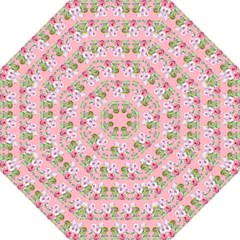 Floral Pattern Straight Umbrellas by SuperPatterns