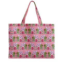 Floral Pattern Mini Tote Bag by SuperPatterns