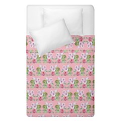 Floral Pattern Duvet Cover Double Side (single Size) by SuperPatterns
