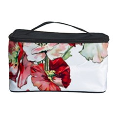 Flowers Poppies Poppy Vintage Cosmetic Storage Case by Celenk