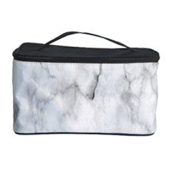 White Background Pattern Tile Cosmetic Storage Case by Celenk