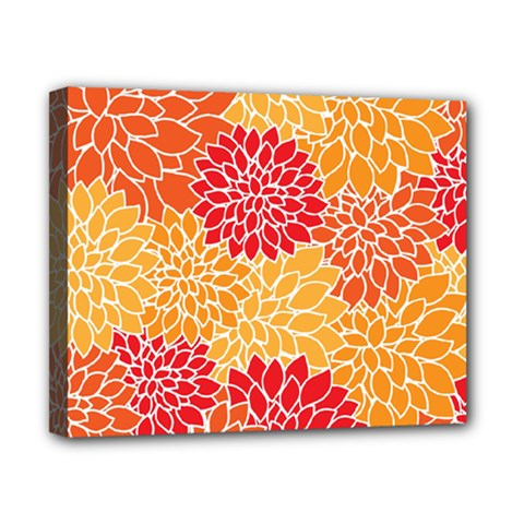 Abstract Art Background Colorful Canvas 10  X 8  by Celenk