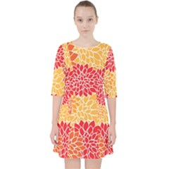 Abstract Art Background Colorful Pocket Dress by Celenk