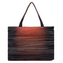 Background Red Orange Modern Zipper Medium Tote Bag by Celenk
