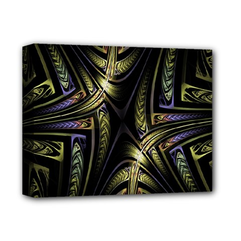 Fractal Braids Texture Pattern Deluxe Canvas 14  X 11  by Celenk