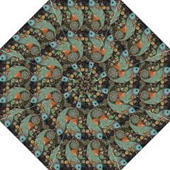 Pattern Background Fish Wallpaper Straight Umbrellas by Celenk