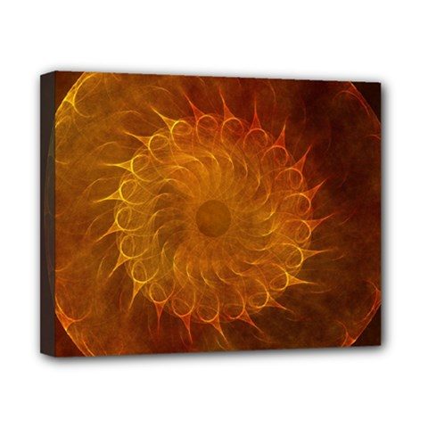 Orange Warm Hues Fractal Chaos Canvas 10  X 8  by Celenk